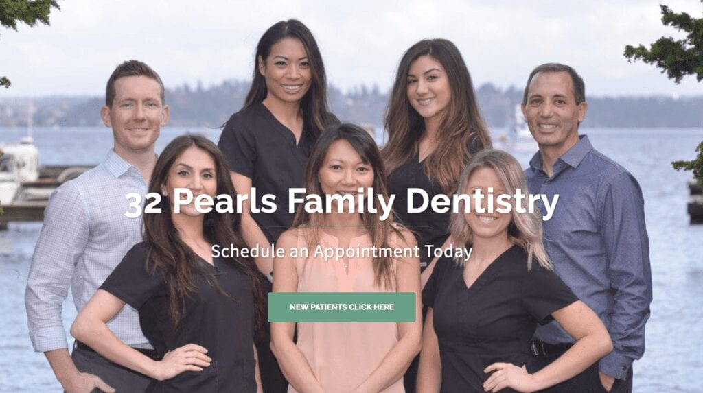 Lead generation for 32 Pearls Dentistry Seattle